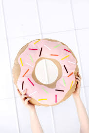Cushion Donut Simple And Sweet Donut Pillow U2013 A Beautiful Mess