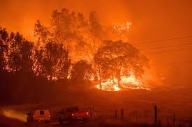 Wildfire Cali by In Pictures California Wildfire Threatens Historic Gold Rush Town