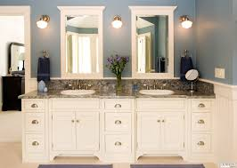 modern his and hers bathroom sink double vanity 2141853117
