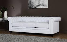 cheap chesterfield sofa hton white leather chesterfield sofa 3 seater only 494 99
