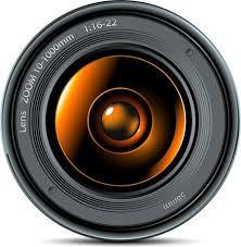camera lens clipart