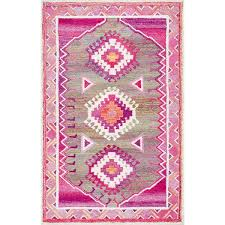 Tufted Area Rug Tufted Pink Area Rug