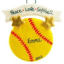 luxurious and splendid softball ornaments modern