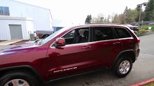 red jeep 2016 2016 jeep grand cherokee laredo red gc325086 redmond