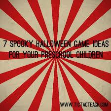 7 Spooky Halloween Game Ideas For Your Preschoolers
