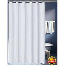 78 Shower Curtain Rod Amazon Com Carnation Home Fashions 70 Inch By 78 Inch Fabric