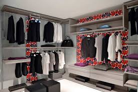contemporary ikea closet ideas with lots of recessed lighting