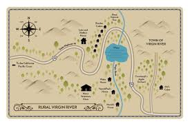 Yellow River Map Maps Of Virgin River Robyncarr