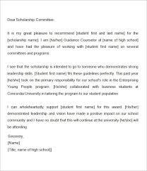 nomination letter examples the best letter sample