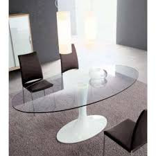 Dining Table With Glass Top Oval Shape Oval Glass Dining Table Amazing Oval Glass Dining Table Hd Picture