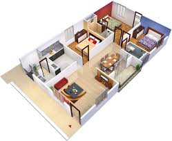 3 bhk house plans as per vastu