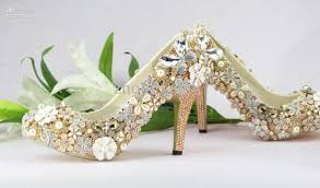 wedding shoes mid heel medium heel luxury gold wedding shoes bridal shoes