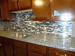 sheet tile backsplash glass tile subway pattern for kitchen