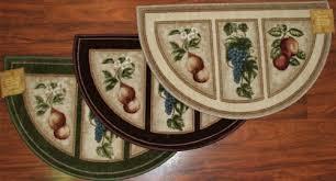 brilliant fruit kitchen rugs fruit kitchen rug sets envialette
