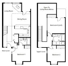 open floor plans with loft 2 bedroom loft floor plans photos and wylielauderhouse