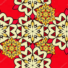 colorful mandala seamless wallpaper endless ornamental backdrop