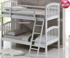 Cosmos White Bunks - White bunk beds uk