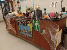 my spooky mad scientist desk halloween decorations for my