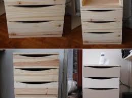 construire un bureau en bois transformer un bloc tiroir en meuble de bureau par dugoutetdescouleurs