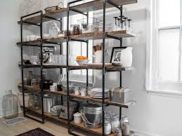 kitchen 3 kitchen wall shelving units white wood curio wall