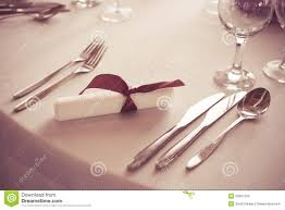 Fancy Place Setting Luxury Wedding Lunch Table Setting Stock Photo Image 40464837