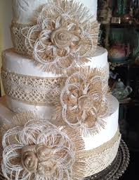 elegant rustic wedding cake tutorial no decorating experience