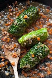 cuisiner les feuilles de chou fleur feuilles chou farcies la cuisine de nathalie food and drink