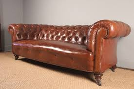 Victorian Leather Sofa Superb Victorian Leather Chesterfield Antiques Atlas