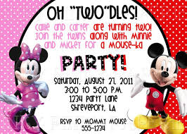 minnie and mickey mouse party invitations redwolfblog com