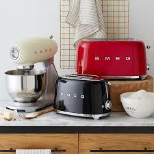 Red Kettle And Toaster Smeg Toaster 2 Slice West Elm