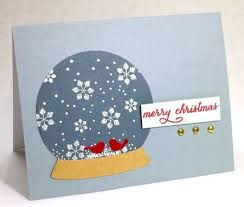 73 best snow globe cards images on pinterest xmas cards holiday