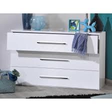 commode chambre blanc laqué commode laque blanc ou noir 3 tiroirs trendymobilier com