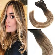 human hair extensions clip in human hair extensions hair balayage brown