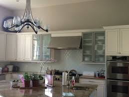 Backsplashes No Backsplash Behind Kitchen Sink White Cabinets - No backsplash