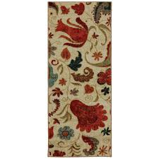Tropical Area Rugs Mohawk Home Select Strata Tropical Acres 2 Ft X 5 Ft Rug Runner