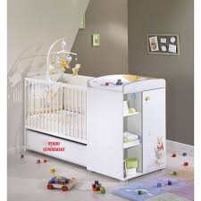 chambre bébé winnie l ourson winnie l ourson lit bébé transformable 120 x 60 blanc achat