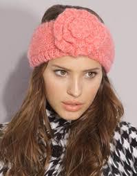 thick headbands knit flower headband thegloss