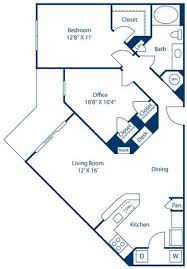 a floor plan floor plans of bell channelside in ta fl