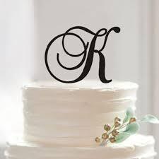 k cake topper custom k letter cake topper initial name cake topper for wedding