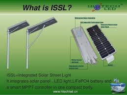 what is street light hitechled integrated solar led street light vs other street lights
