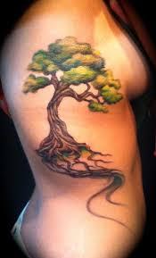tree path ribs by brennan tattoos tree tattoos on