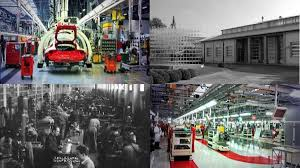 ferrari factory building the ferrari factory then and now autoweek