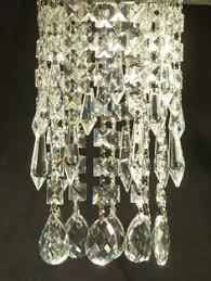 Chandelier Magnetic Crystals Luxe Crystal Chantilly Clip On Mini Crystal Chandelier For