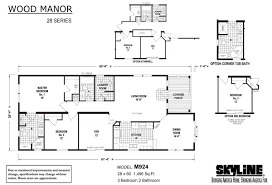 wood manor m924 by skyline homes