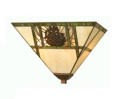 Stained Glass Wall Sconce Rustic Wall Sconces