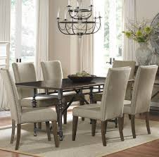 dining chairs awesome grey upholstered dining chairs with enchanting white tufted nailhead dining chair stylish decoration dining room chairs ideas