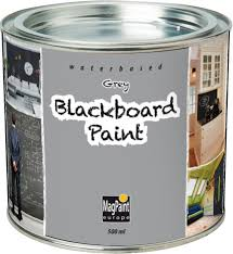 Designerpaint by Magpaint Blackboard Paint Grey 500ml By Designer Paint
