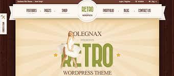 30 inspiring examples of retro style website designs