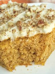 cake thanksgiving pumpkin spice sheet cake together as family