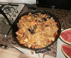 cuisiner une vieille paella d une vieille grand mère espagnole recette de paella d